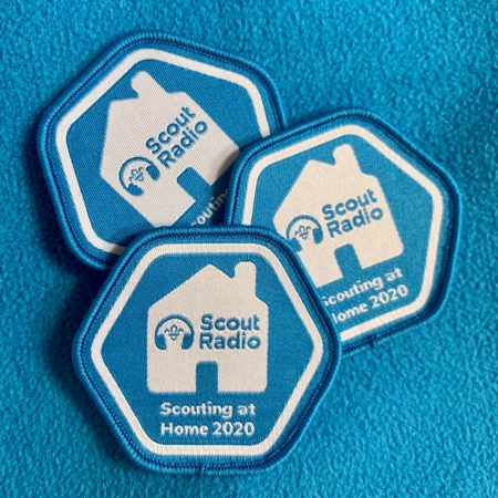 Scouting at Home 2020 Badge