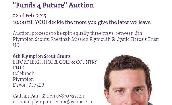 6th Plympton Scouts hold charity auction