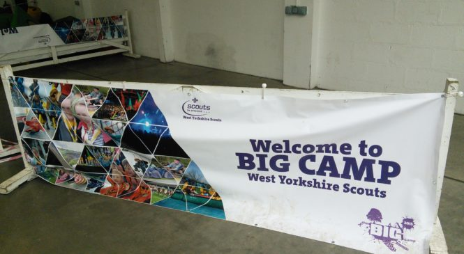 West Yorkshire Scouts Big Camp 2015