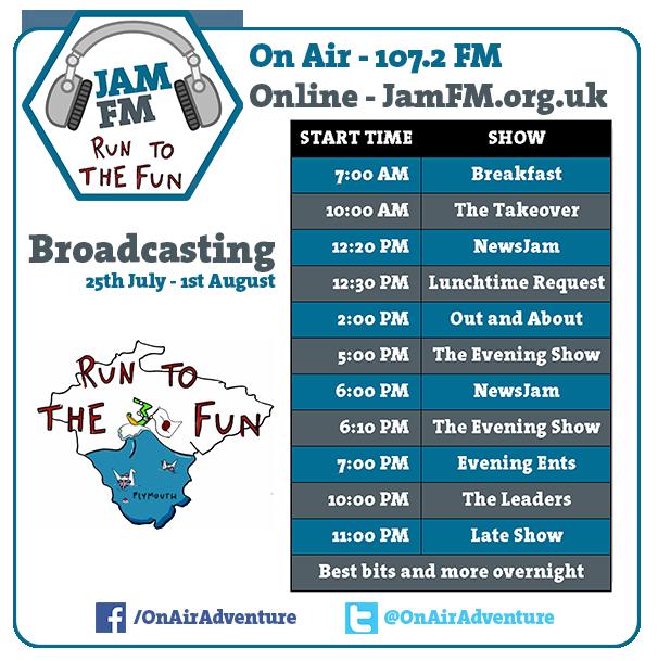 Jam FM Schedule