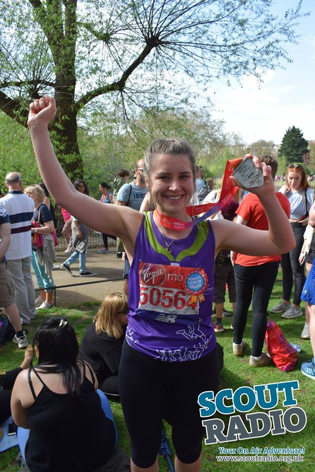 Scout Radio at the London Marathon 2018