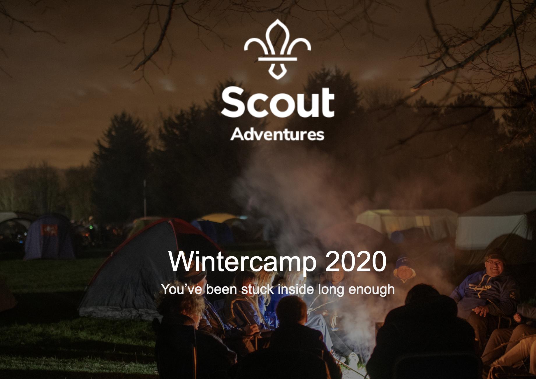 Scout Radio at Wintercamp 2020