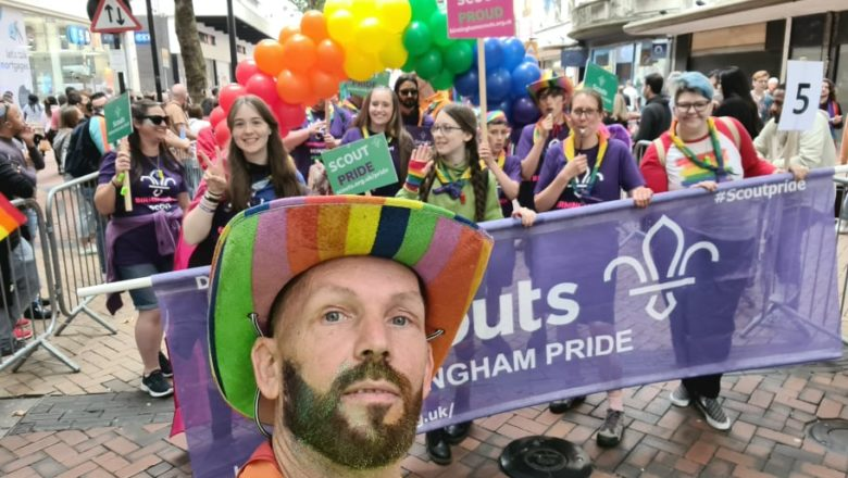 Scouts Attend First Pride Parade Since Lockdown